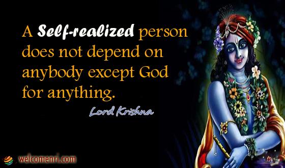 Lord Krishna Quotes Welcomenri Stunning Lord Krishna Quotes