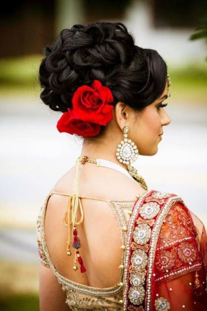 Beautiful Indian Wedding Hairstyles