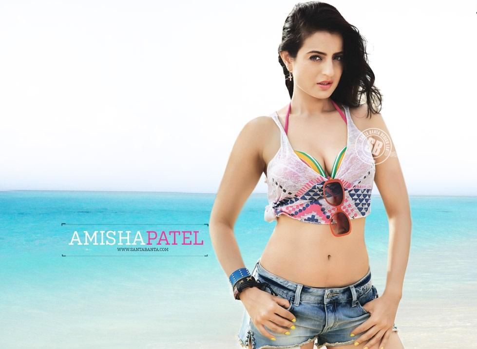 bikini hot Amisha patel