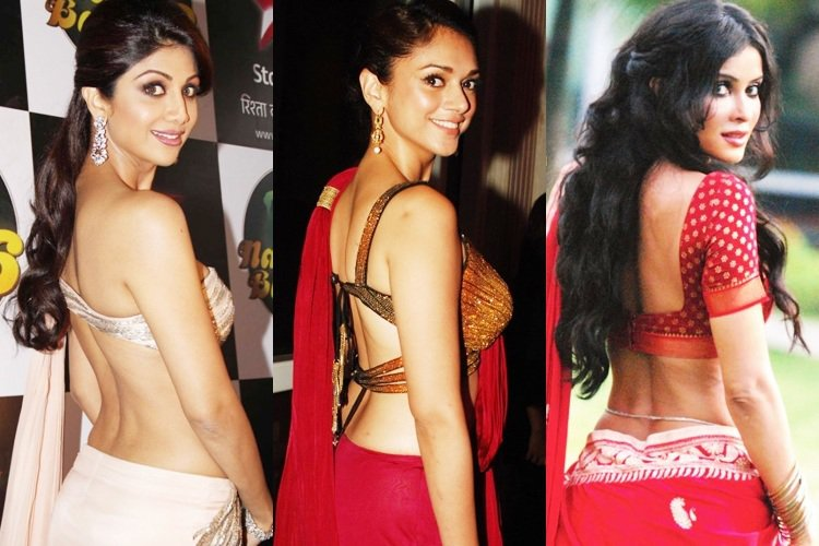 Opinion Backless saree blouses designs for women join