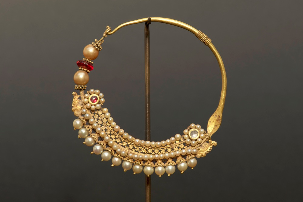 Lovely Buy Gold Nose Ring Online India Jewellrys Website