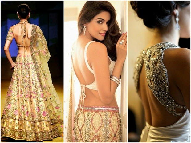 Backless Dresses India
