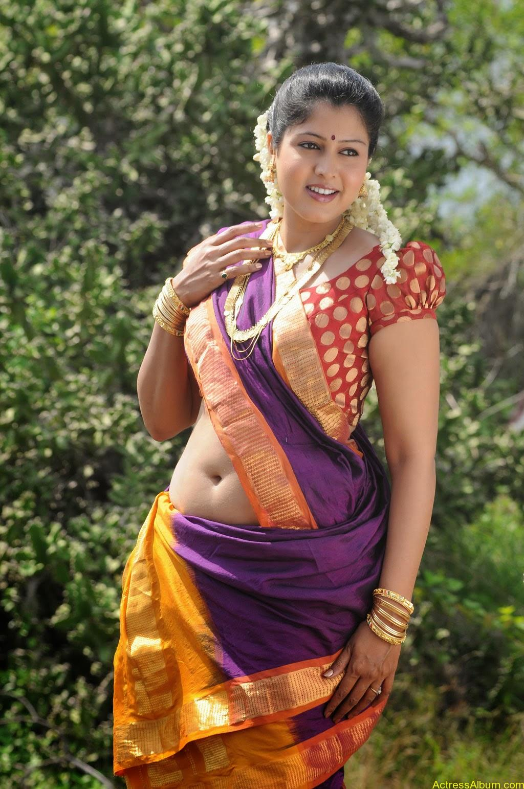 South Actress Hot And Spicy Navel Photos In Saree Hot Navel Images