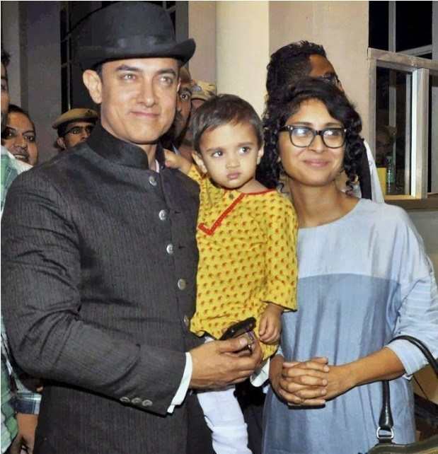 A Man Asks His Wife A Question About Their Son But Is: Bollywood Stars And Their Family Pics
