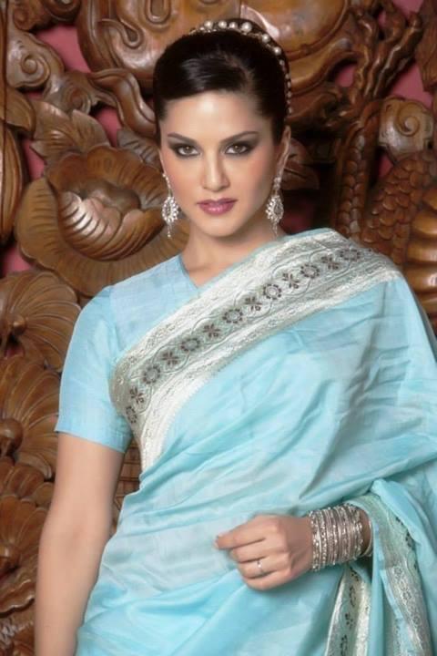 Sunny Leone Saree Photos Welcomenri
