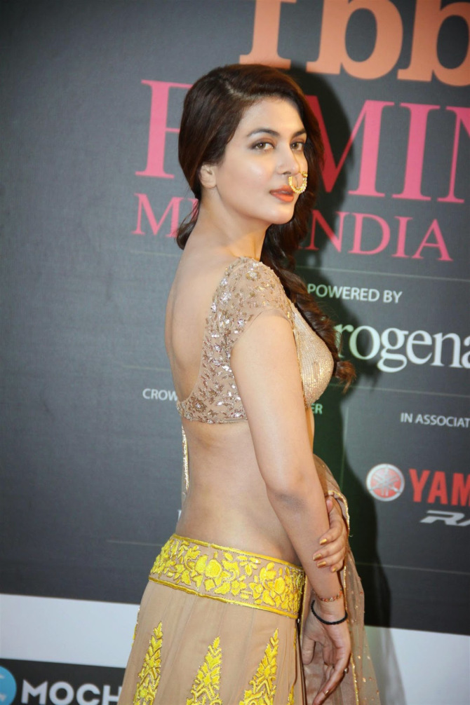 Indian Actress Backless Blouse 70