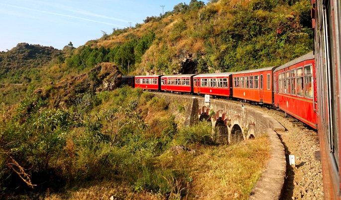 essay on train journey india