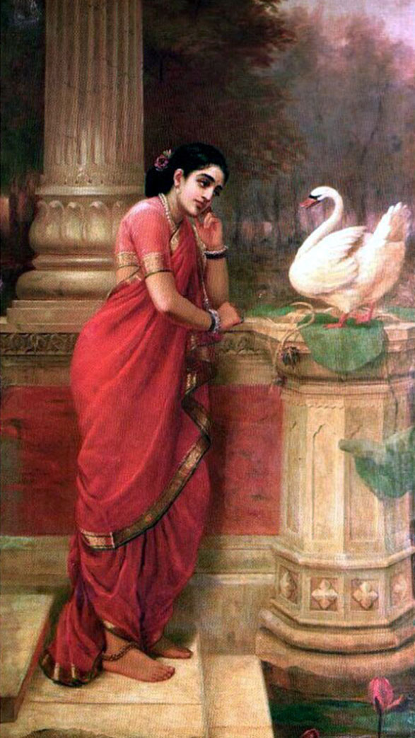 25 best raja ravi varma paintings 18th century indian